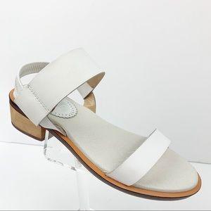 Anthropologie Latigo White Sandals